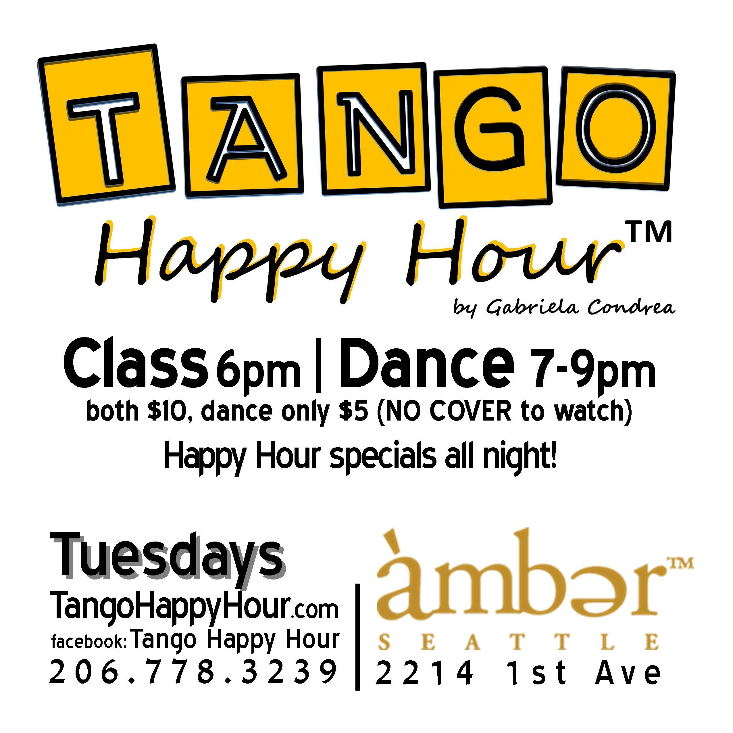 Tango Happy Hour™ ~ Tuesdays