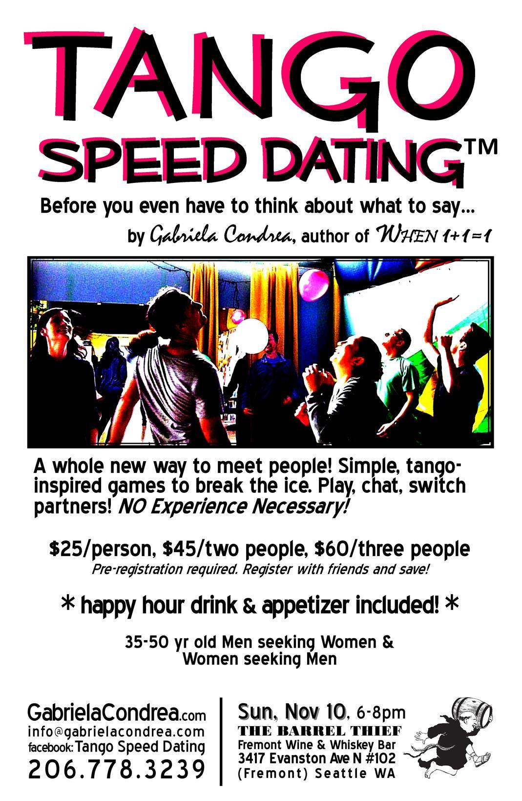 Introduce yourself speed dating