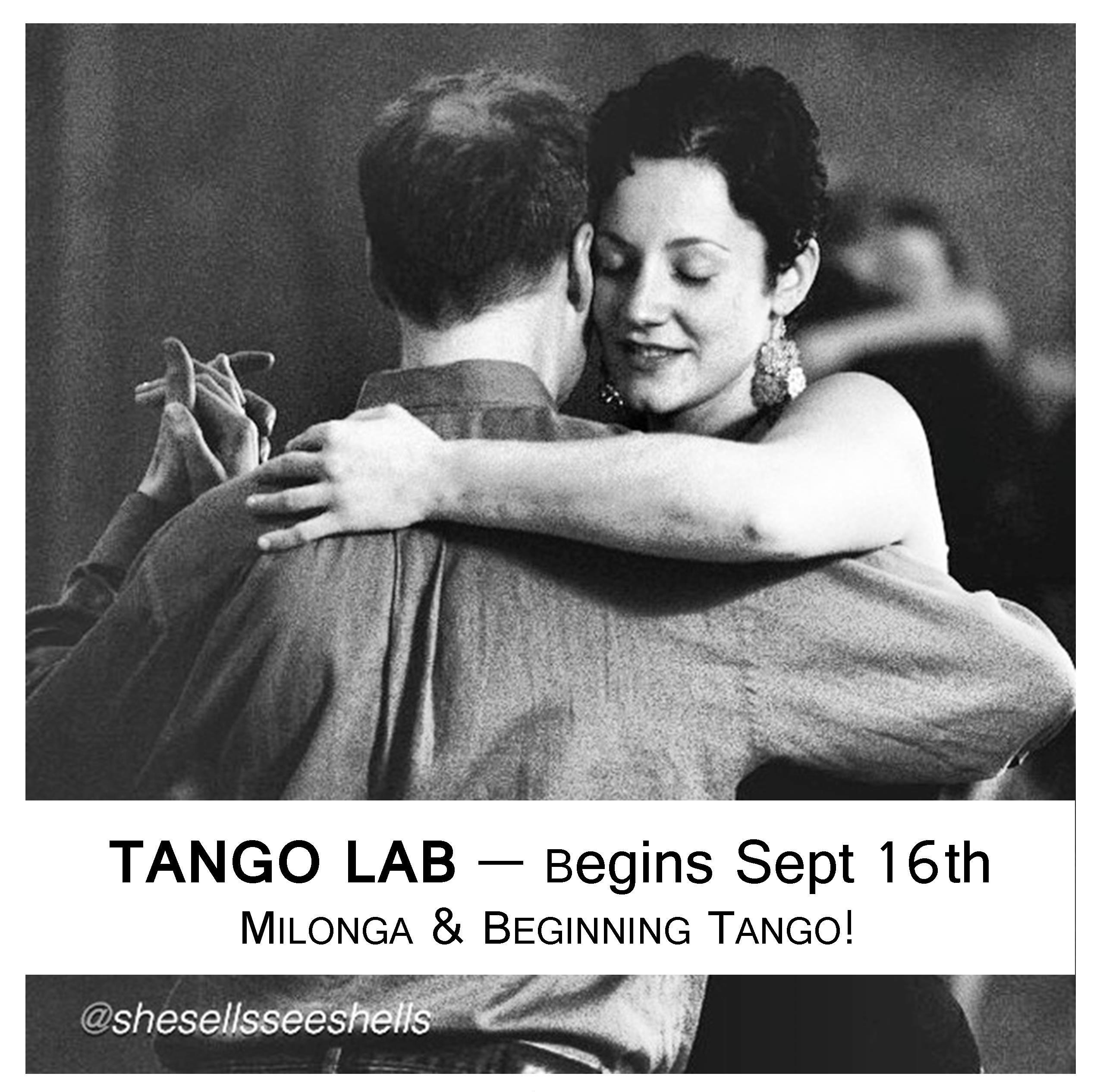 TANGO LAB by Gabriela Condrea